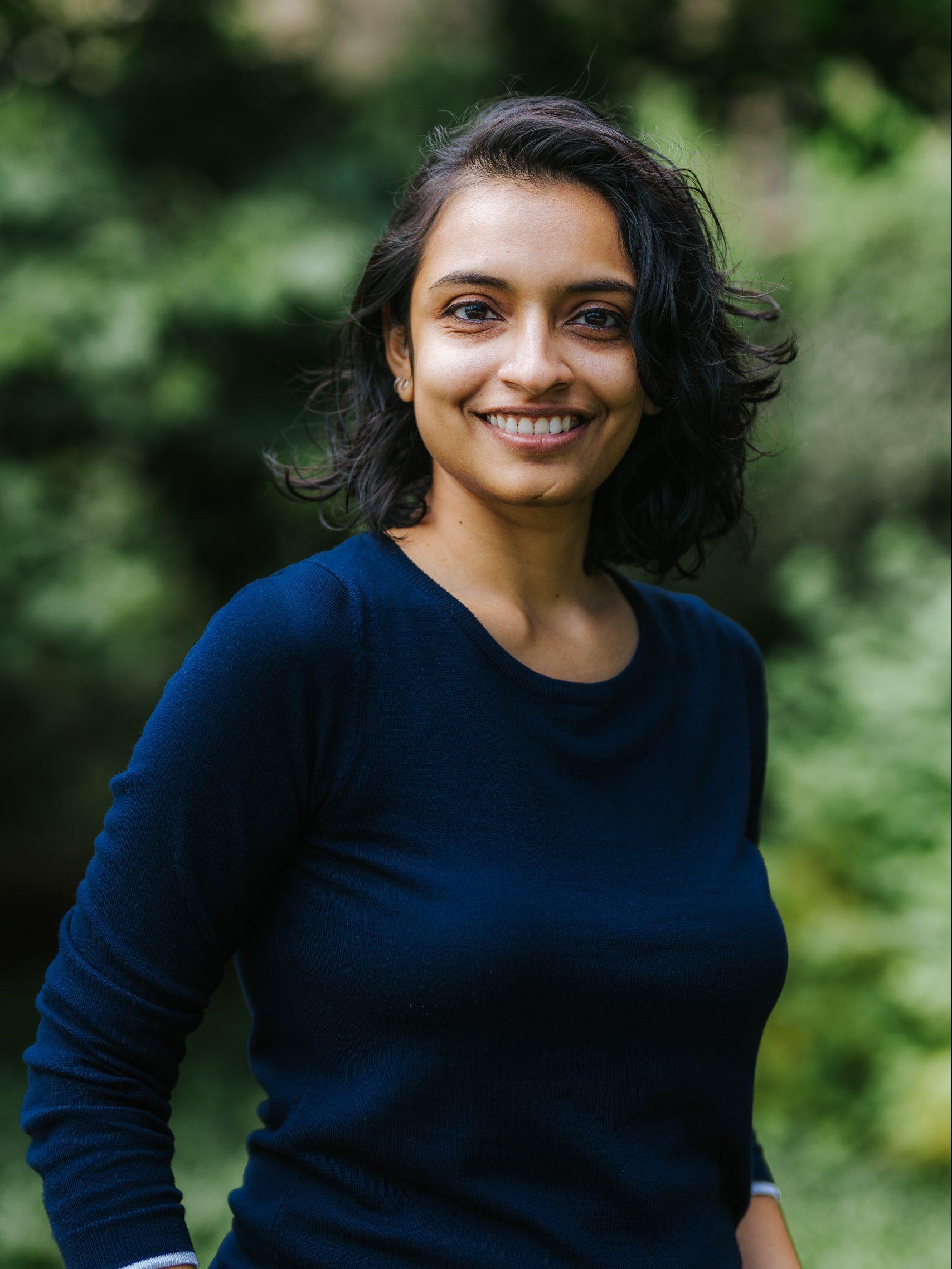 Headshot of Janani Hariharan
